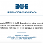 Real Decreto LexNET